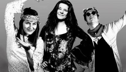 Janis Gollin, Janis Joplin und Janis Kochlin (v.l.) (Bildbearbeitung: Ann-Kathrin Canjé)